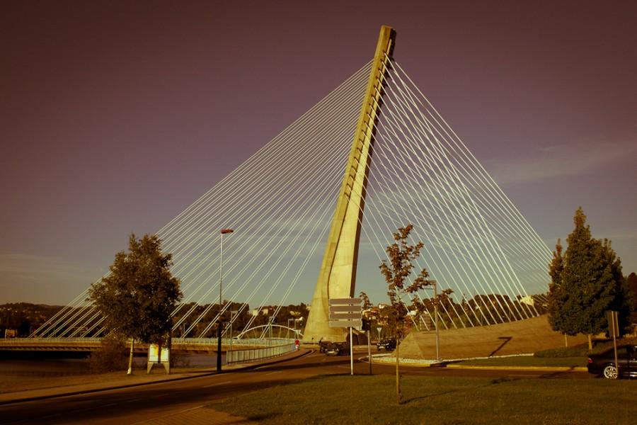 puente de los tirantes pontevedra