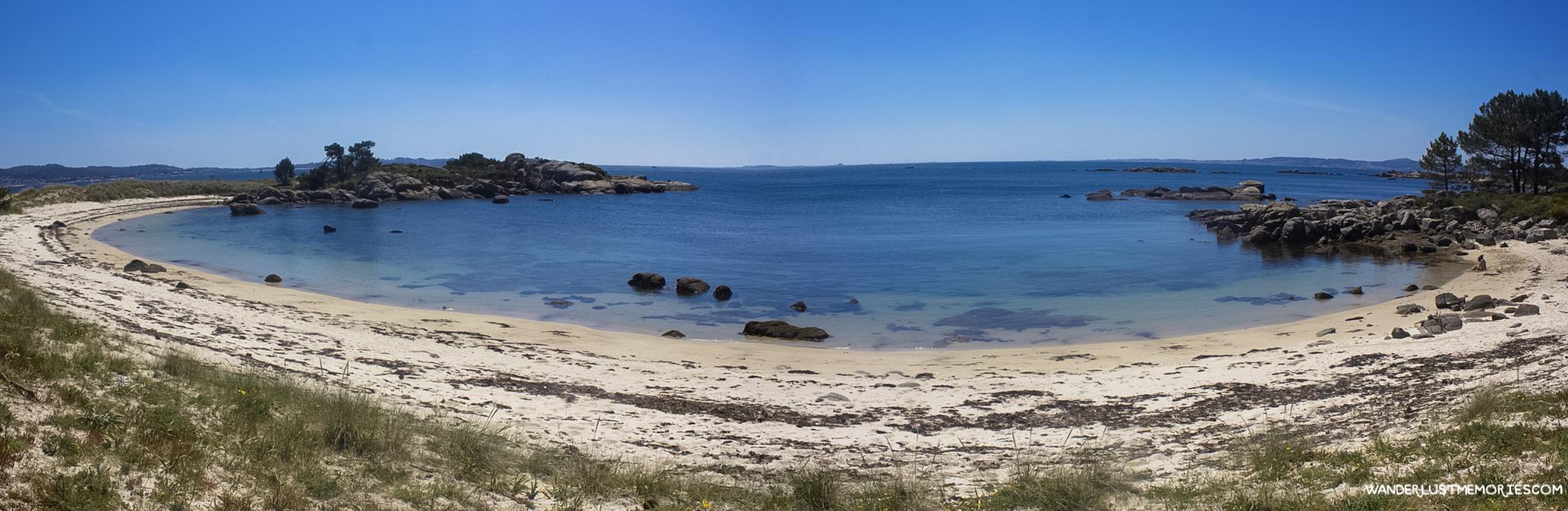 illa de arousa panorama