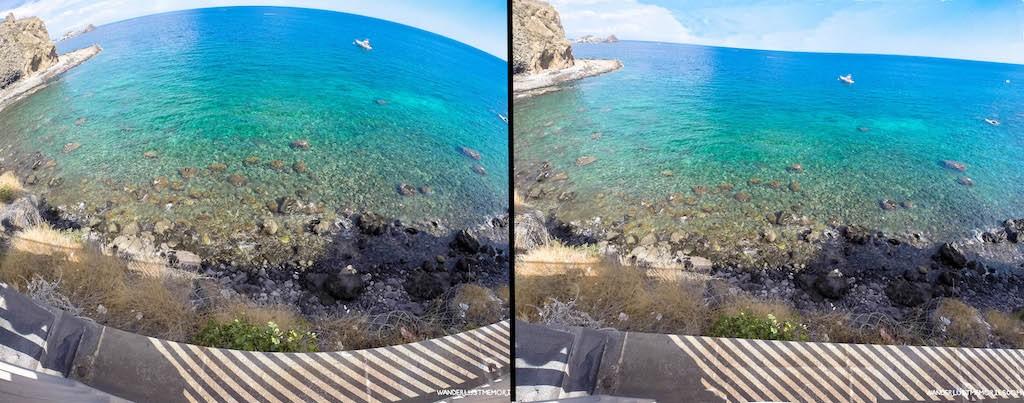 GoPro eliminar ojo pez fisheye Wanderlust Memories