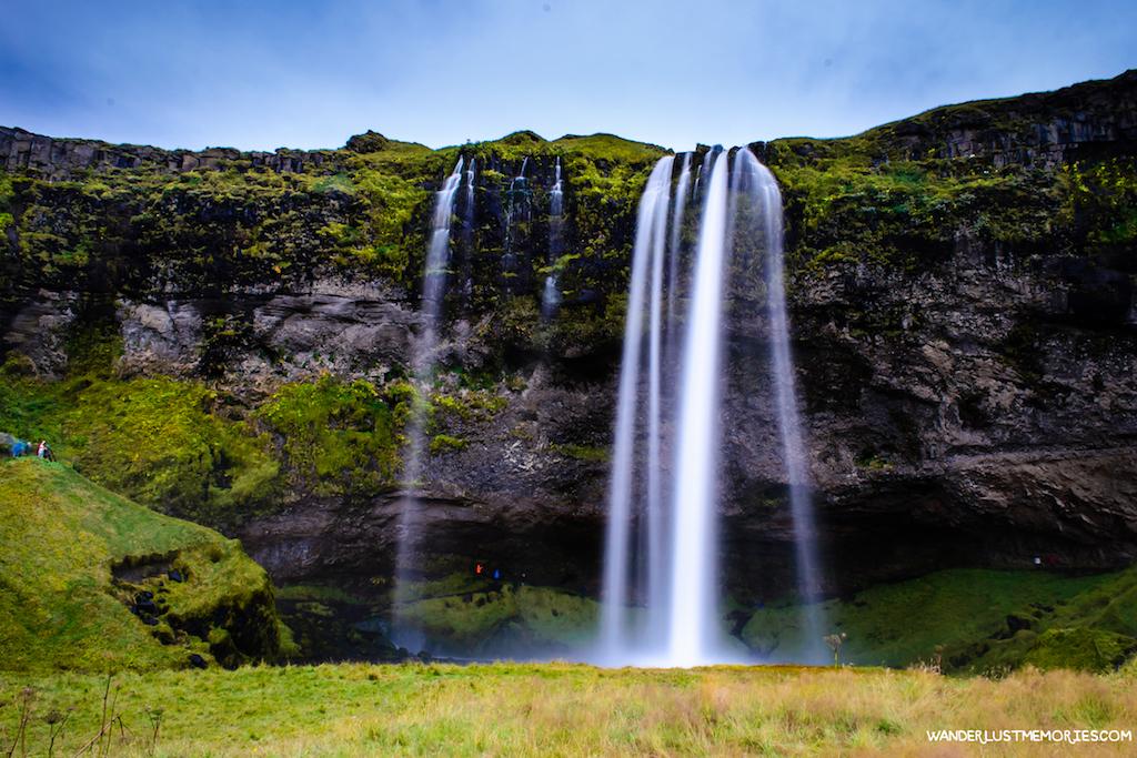 20 lugares únicos de Islandia cascada