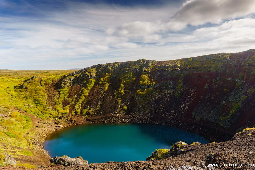 20 lugares únicos de Islandia kerid
