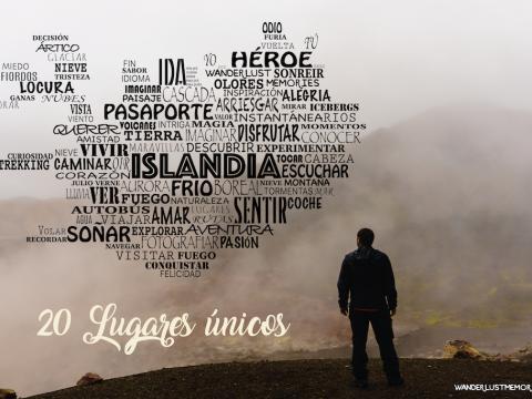 20 lugares únicos de Islandia