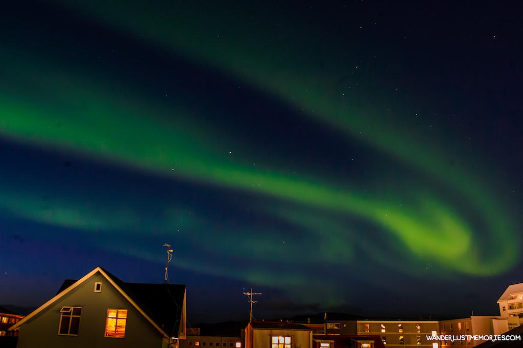 aurora boreal en islandia reykjavik