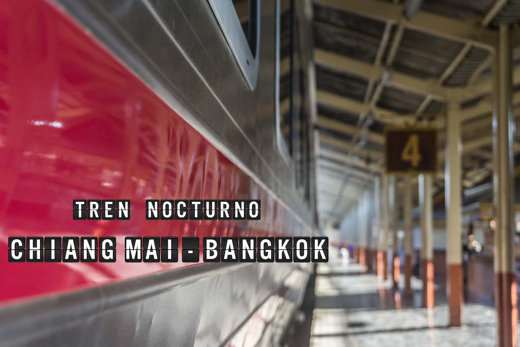 Tren Nocturno de Chiang Mai a Bangkok