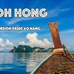 Koh Hong Island: Excursión alternativa desde Ao Nang
