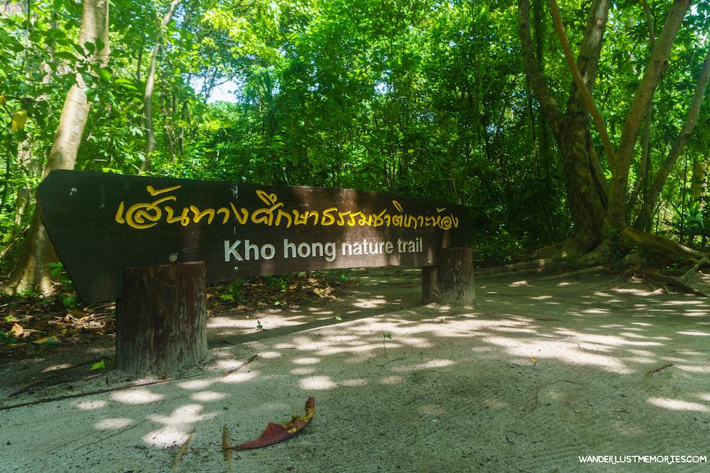 koh hong trail