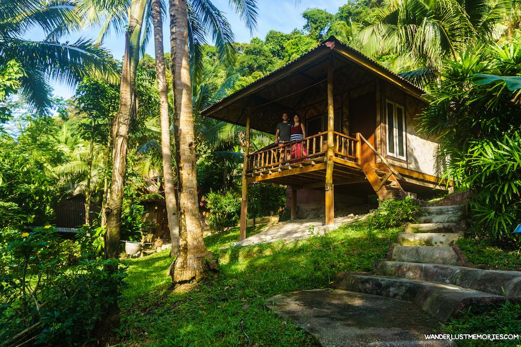 alojamiento en railay cabana