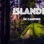 Islandia de camping en septiembre
