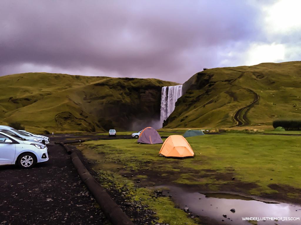 skogafoss camping