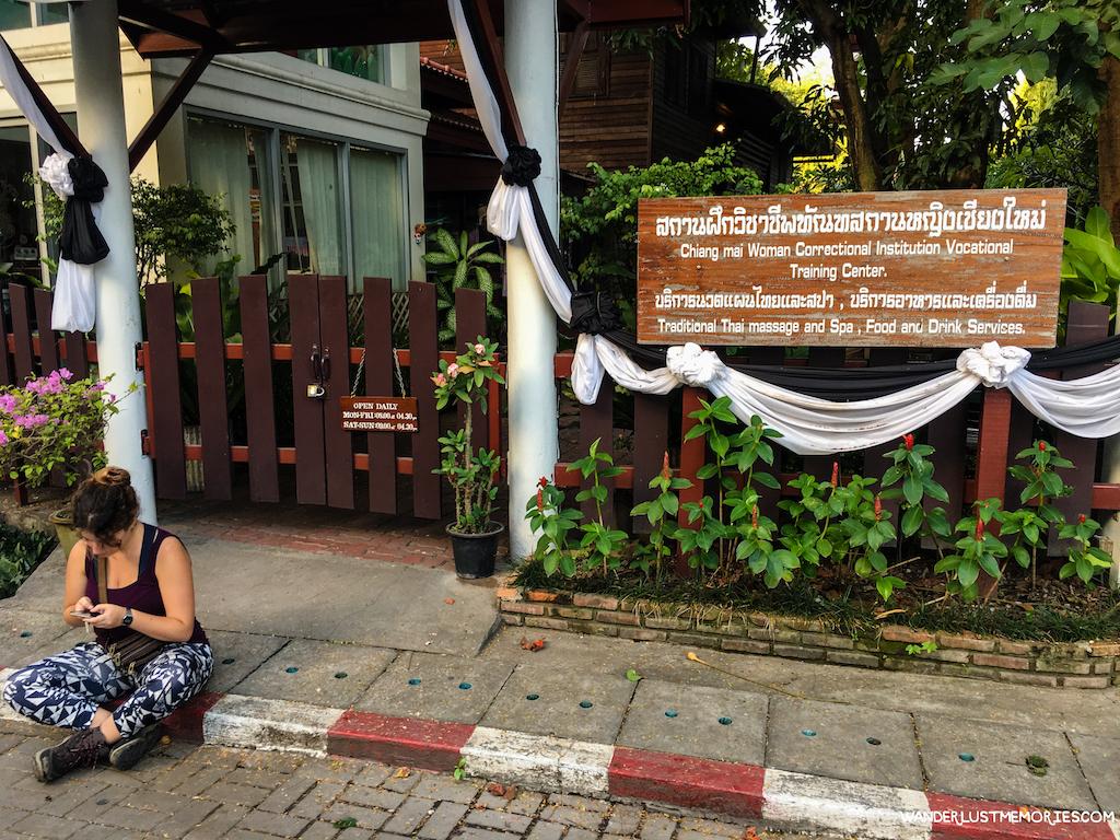 Resultado de imagen para chiang mai carcel mujeres masajes